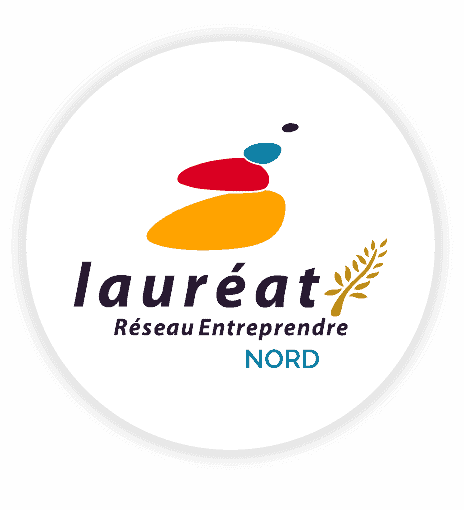 Winner of the network entrepreneur nord logo ineat